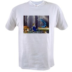 Who Are You? (Blue Caterpillar) Value T-shirt