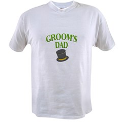 Groom's Dad(hat) Value T-shirt