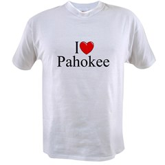 """I Love Pahokee"" Value T-shirt"