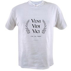 Veni Vidi Vici Value T-shirt