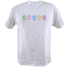 Colorful Day of the Dead Value T-shirt