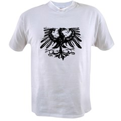 Gothic Prussian Eagle Value T-shirt