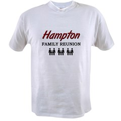 Hampton Family Reunion Value T-shirt