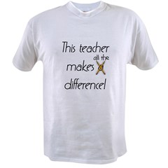 This Teacher Value T-shirt
