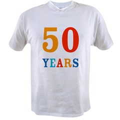 50 Years! Value T-shirt