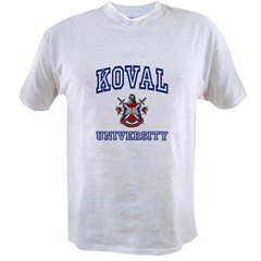 KOVAL University Value T-shirt