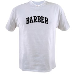 BARBER (curve-black) Value T-shirt