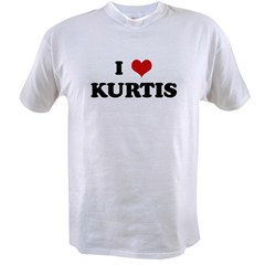 I Love KURTIS Value T-shirt