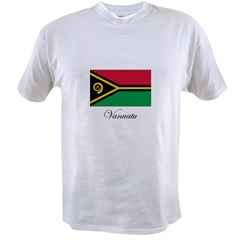 Vanuatu - Flag Value T-shirt