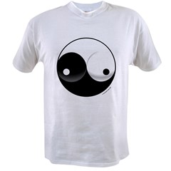 Ying Yang Woman Value T-shirt