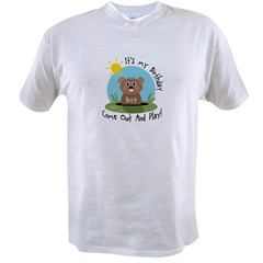 Brice birthday (groundhog) Value T-shirt