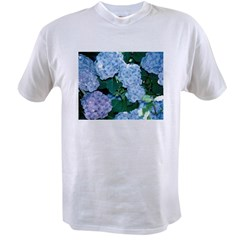 Blue Hydrangea Value T-shirt