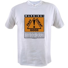 Pricing Triangle Value T-shirt