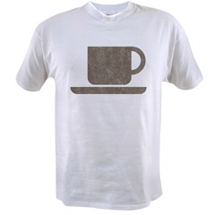 Vintage Coffee Value T-shirt