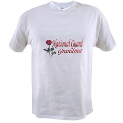 national guard grandma Value T-shirt