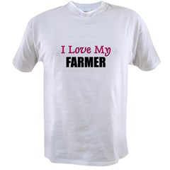 I Love My FARMER Value T-shirt