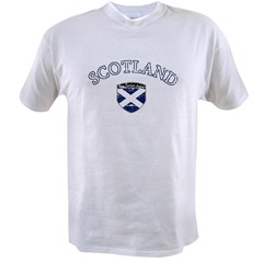footballscotlandblack Value T-shirt