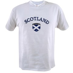 Scotland Soccer Value T-shirt