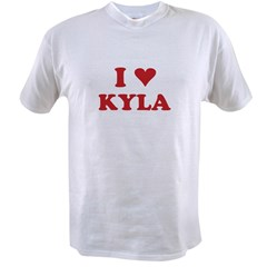 I LOVE KYLA Value T-shirt