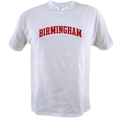 BIRMINGHAM (red) Value T-shirt