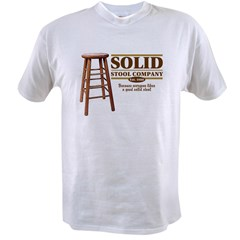 Solid Stool Value T-shirt
