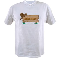 Destiney western Value T-shirt