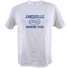 JANESVILLE drinking team Value T-shirt