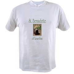 St. Bernadette of Lourdes Value T-shirt