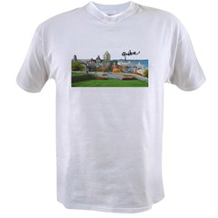 Old Quebec Pano with Signatur Value T-shirt