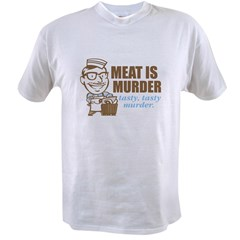 Meat is Murder Value T-shirt