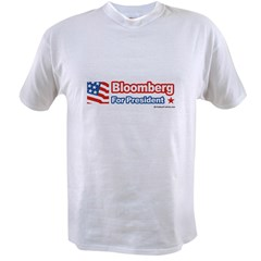 Bloomberg for Presiden Value T-shirt
