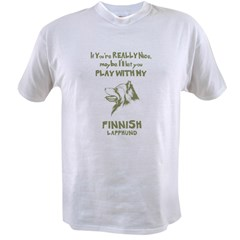 Finnish Lapphund Value T-shirt