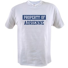 Property of ADRIENNE Value T-shirt
