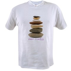 Zen Rocks Value T-shirt