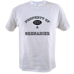 Property of a Grenadier Value T-shirt