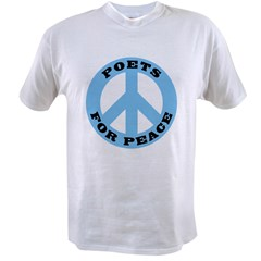 Poets For Peace Value T-shirt