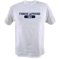 Finnish Lapphund Dad Value T-shirt