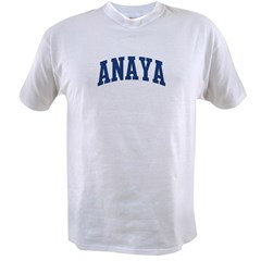 ANAYA design (blue) Value T-shirt
