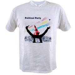 Political Party Value T-shirt