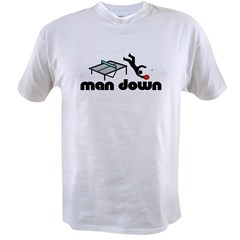 man down ponger Value T-shirt