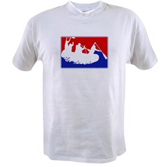 Major League White Water Raf Value T-shirt