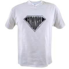 SuperEngineer(metal) Value T-shirt