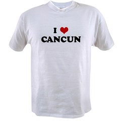 I Love CANCUN Value T-shirt