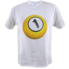 Billiards One Ball Value T-shirt