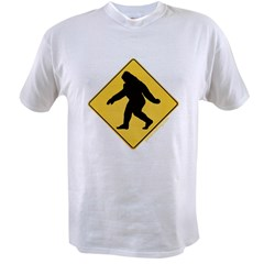 Big Foot Crossing Value T-shirt