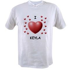 I Love Keyla - Value T-shirt