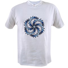 MilkHill Blue Transparent Value T-shirt