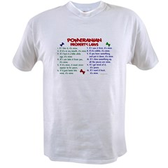Pomeranian Property Laws 2 Value T-shirt