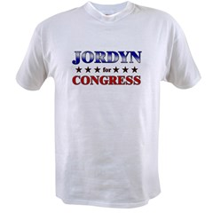 JORDYN for congress Value T-shirt
