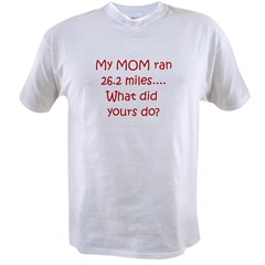 Mom Marathon Value T-shirt